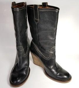 Frye Caroline Midshaft Boots Women's Size 5.5 M